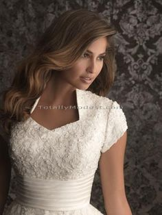 Sarah... Modest Wedding Dress