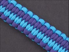 2 Strand Wall Knot Tutorial Paracord Knots Pinterest