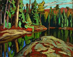 How Comedian Steve Martin became a Champion for Lawren Harris, by Sara Angel Maclean's, February 2014 Group Of Seven Art, Group Of Seven Paintings, Tom Thomson, Emily Carr, Canadian Painters, Canadian Artists, Abstract Landscape, Landscape Paintings, Modern Art Movements