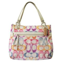 Amazon.com: Coach Limited Edition Dream Dreamy Glam Shopper Bag Tote 19023: Shoes
