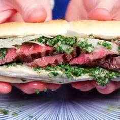 Chimichurri Steak & Manchego Super Sub - 9GAG