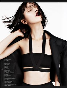 Ranya Mordanova by Naomi Yang for French Revue de Modes