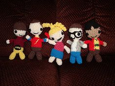 Big Bang Theory Amigurumi. Free pattern!