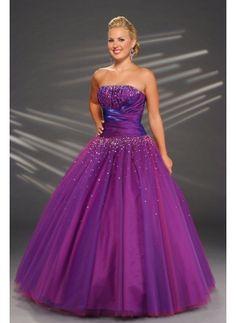 Umm...YES!!! Purple + princess style = dream dress