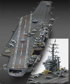 #NEW #Aircraft Carrier #CVN-73 U.S.S. #George #Washington 1/720 #Academy Model…