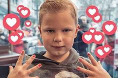 People Are Moved By A Terminally Ill Boy Who Is Painting Nails For Charity And Has Raised Over €2 Million