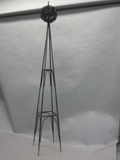 Achla Designs Wrought Iron Lattice Obelisk Patio