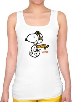 Pilot Snoopy - Bayan Kare Yaka Atlet