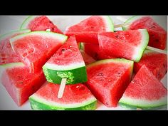 COME TAGLIARE E SERVIRE IL COCOMERO ancora un paio di idee - Awesome Way to Cut Watermelon - YouTube