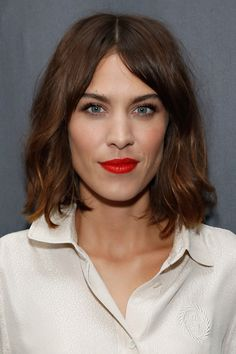 The style star has copped to her love for Topshop Lips Rio Rio, a creamy, rich red. - TownandCountryMag.com