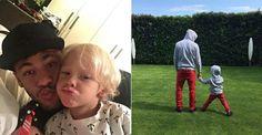 Tal pai, tal filho: Neymar e Davi Lucca usam roupas iguais