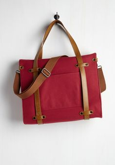 Totes & Backpacks - Camp Director Tote in Cherry