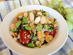 Like simple meals to keep you running strong? Try this quinoa and edamame salad with oranges from Brooks Corporate Chef Connie