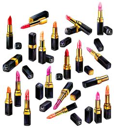 Too much Chanel lipstick! - Said no one ever! #Chanel #Beauty