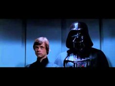 """Star Wars Without John Williams - excellent compilation of Star Wars clips all with alternative music. My favourite is at 1'27"""""""
