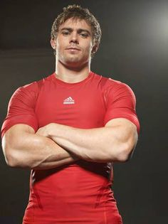 Leigh Halfpenny, Welsh rugby player.