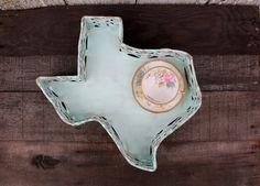 Texas Tray - Texas Basket - Home Decor or Wedding Decor. $25.00, via Etsy.