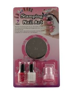 Konad Stamping Nail Art Starter Kit - D -- Want additional info? Click on the image.