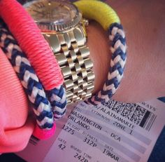 @alainamarie1987 taking a #winter #vacation w/ #theropes #theropesmaine #bracelets