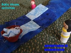 Baby Moses activities - Adventures in Mommydom