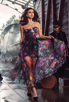 Irina Shayk for bebe Fall 2015
