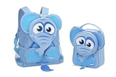 Elephant Backpack and Lunch Bag Back To School, Elephant, Lunch, Backpacks, Awesome, Bags, Fictional Characters, Handbags, Lunches