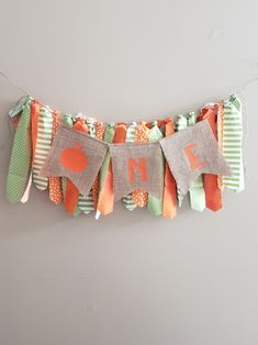 Green and orange first birthday pumpkin banner.First birthday highchair banner.Pumpkin first birthday.Burlap first birthday. Fall First Birthday, Pumpkin First Birthday, First Birthday Banners, First Birthday Photos, Halloween Birthday, First Birthday Parties, First Birthdays, Tribal Baby Shower, Birthday Highchair