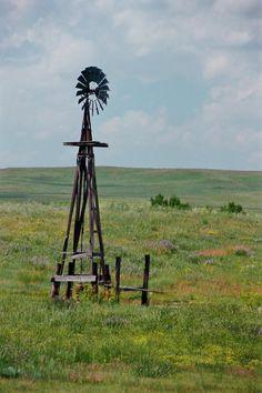 Western Kansas Windmill