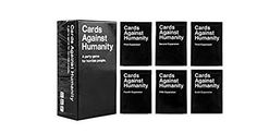 Cards Game Against Humanity Base Pack Set Bundle Full Expansion Pack - $73.39 - http://www.amazon.com/gp/product/B01AW5F0YS/ref=as_li_qf_sp_asin_il_tl?ie=UTF8&camp=1789&creative=9325&creativeASIN=B01AW5F0YS&linkCode=as2&tag=bremcd-20&linkId=SQBHACUEQXDVWTOC