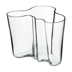 Alvar Aalto Collection Vase 160 mm clear