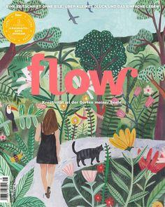 Flow Magazine, Print Magazine, Magazine Art, Magazine Design, Illustrations Médicales, Frankie Magazine, Magazine Illustration, Message Card, Jolie Photo
