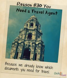 Reason #30 You Need a Travel Agent