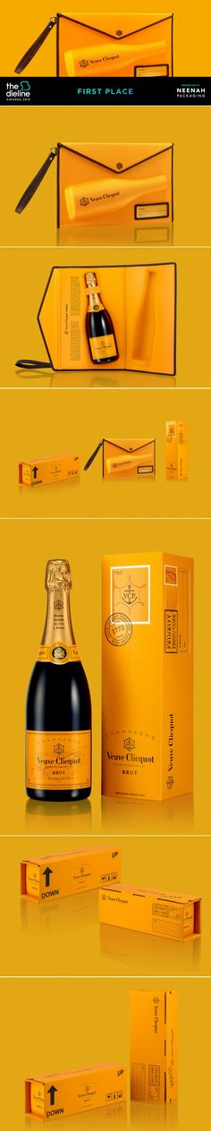 The Dieline Awards 2015: 1st Place Wine, Champagne- Clicquot Mail collection — The Dieline   Packaging & Branding Design & Innovation News