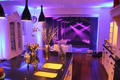 marquee winter party