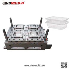 500ml Container Mould. Welcome to follow and contact us!  Email: sino-mould@hotmail.com  Whatsapp: +86 158-5868-5625