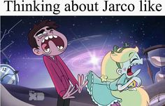Oh FUCK YOU. We ALL know Starco is gonna be endgame, but let the fans ship Jarco if they want to.