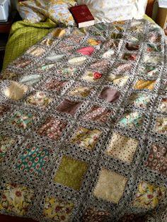 Lillian's Stitches: Fusion Blanket - Complete!