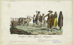 Contadini e pastori Spagnuoli e Portoghesi. From New York Public Library Digital Collections.