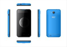 Sky 4.0 Android KitKat 3G Unlocked GSM 5.0 MP Dual sim bluetooth enabled Blue #SkyDevices #Touchscreen