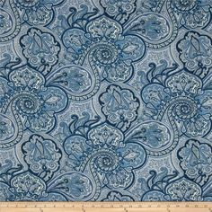 Waverly Sun N Shade Paddock Shawl Indigo from @fabricdotcom  Waverly's Sun N Shade fabrics meet the rugged demands of casual indoor and outdoor living. This indoor/outdoor fabric is fade resistant up to 500 hours of direct sun exposure. Create decorative toss pillows, chair pads, tabletop and tote bags. To maintain the life of the fabric bring indoors when not in use. This fabric can easily be cleaned by wiping down or hand washing with warm water and a mild soap solution, simply rinse with…