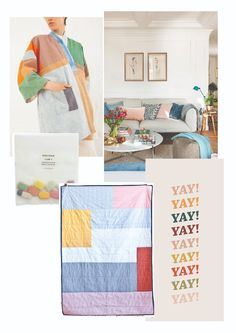 Decor inspiration. Hamabi.  Mikado Quilt Simple Bed, Take A Nap, Everyday Objects, Double Beds, Cotton Bag, Childhood Memories, Quilting, Things To Come, Blanket