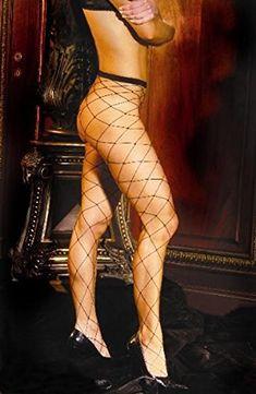 41c0ac3a5e3 Seamless lycra diamond net pantyhose will make you legs long and sexy.