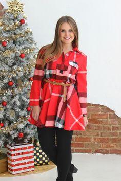 Here Comes Santa Dress