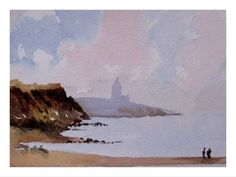 Loose watercolor the Edward Seago way with Alan Owen - YouTube