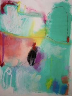 The Colonel by JennyAndrewsAnderson on Etsy, $140.00 #colorful #abstract #art