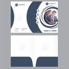 Minotti Financial Folder Design Other business or advertising contest design Folder Design, Personal Logo, Business Design, Advertising, Logos, Inspiration, Biblical Inspiration, Logo, Inspirational