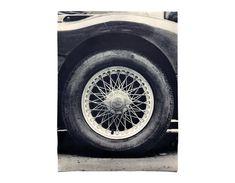 Sheldon Brody Sports Car Tire poster c.1970.