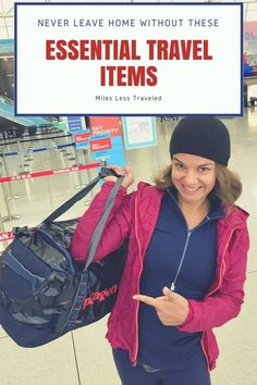 Don't Leave Home Without These Essential Travel Items & Other Travel Resources You Need to Plan Your Next Adventure #TravelPlanning #TravelTips #Packing #PackingGuides