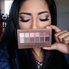 The Blushed Nudes Palette - Eyeshadow Makeup Palette - Maybelline