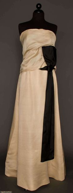 Augusta Auctions, March 21, 2012 NYC, Lot 276: Dior Couture Ball Gown, Spring-summer 1961